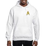 Star Trek TOS Command Badge Hooded Sweatshirt