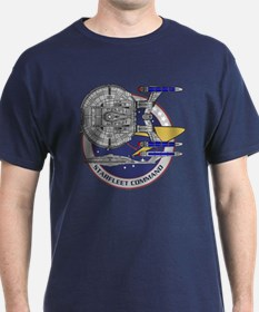 Enterprise Starfleet Command T-Shirt