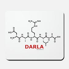 Darla name molecule Mousepad