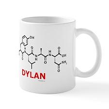Dylan name molecule Mug