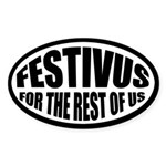Festivus for the Rest of Us Sticker (Oval)