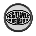 Festivus for the Rest of Us Large Wall Clock