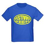 Festivus for the Rest of Us Kids Dark T-Shirt