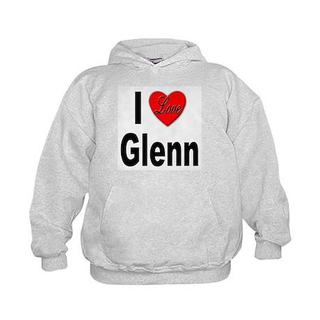 I Love Glenn Kids Hoodie