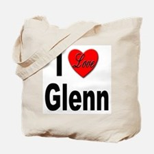 I Love Glenn Tote Bag