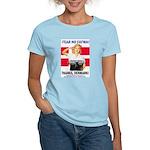 Fear No Fatwa Women's Pink T-Shirt