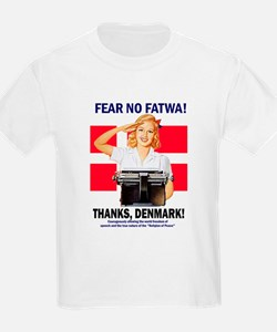 Fear No Fatwa Kids T-Shirt