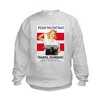 Fear No Fatwa Kids Sweatshirt