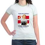 Fear No Fatwa Jr. Ringer T-Shirt