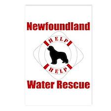 Help Newf Help Postcards (Package of 8)