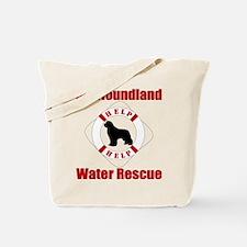 Help Newf Help Tote Bag