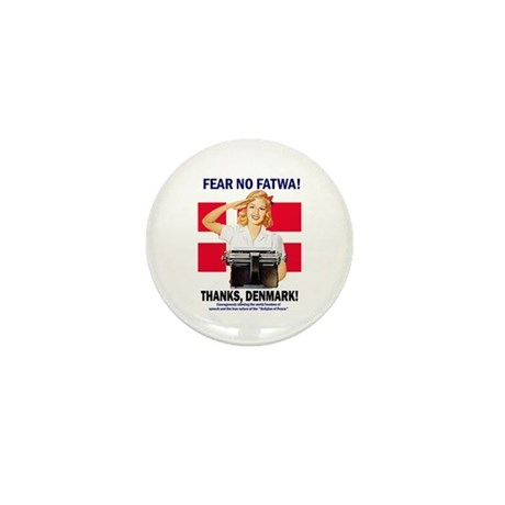 Fear No Fatwa Mini Button (100 pack)