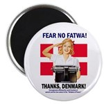 Fear No Fatwa Magnet