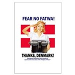 Fear No Fatwa Large Poster