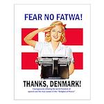 Fear No Fatwa Small Poster