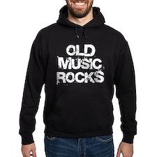 Old Music Rocks Hoodie