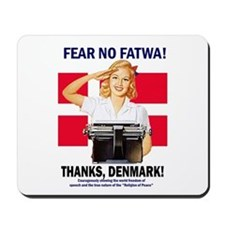 Fear No Fatwa Mousepad