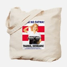 Fear No Fatwa Tote Bag