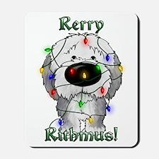 Sheepdog - Rerry Rithmus Mousepad