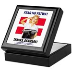 Fear No Fatwa Keepsake Box
