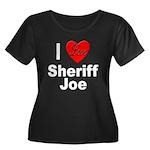 I Love Sheriff Joe (Front) Women's Plus Size Scoop