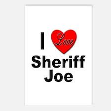 I Love Sheriff Joe Postcards (Package of 8)