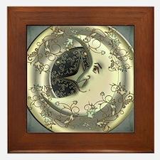 Celestial Moon Framed Tile