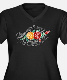 Confident in my Sexuality Women's Plus Size V-Neck