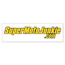 SupermotoJunkie.com Bumper Sticker