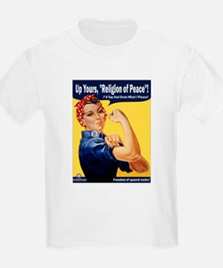 Up Yours, Islam! Kids T-Shirt