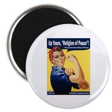 """Up Yours, Islam! 2.25"""" Magnet (10 pack)"""