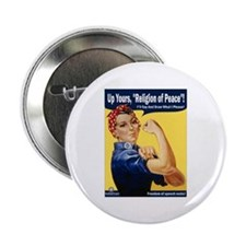 "Up Yours, Islam! 2.25"" Button (10 pack)"