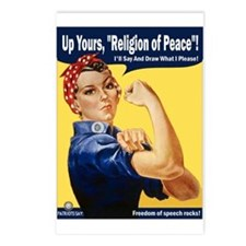 Up Yours, Islam! Postcards (Package of 8)