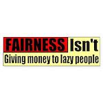 Fairness Bumper Sticker
