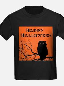 VINTAGE HALLOWEEN OWL T