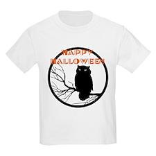 VINTAGE HALLOWEEN OWL T-Shirt