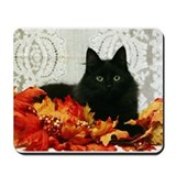 Black cat Classic Mousepad