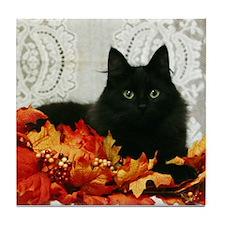 Cute Cat eyes Tile Coaster