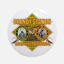 Brandy Station Ornament (Round)