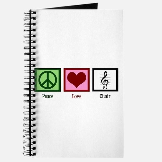 Peace Love Choir Journal