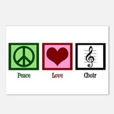 Peace Love Choir Postcards (Package of 8)