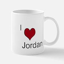 I <3 Jordan Mug