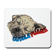 Fawn Cuddle Puggle Mousepad