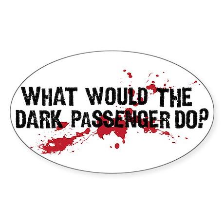 WWTDPD? Sticker (Oval)