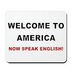 Speak English Mousepad