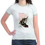 Prayer Against Dhimmitude Jr. Ringer T-Shirt