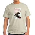 Prayer Against Dhimmitude Ash Grey T-Shirt