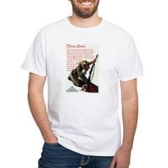 Prayer Against Dhimmitude White T-Shirt
