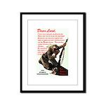 Prayer Against Dhimmitude Framed Panel Print