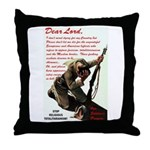 Prayer Against Dhimmitude Throw Pillow